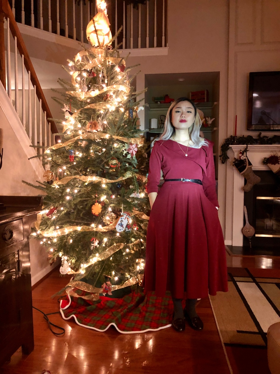 Is Christmas Eve On December 23, 2020 December 23, 2019 – Christmas Red (OOTD #593) – L'ensemble du jour